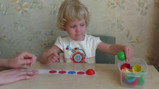 Заняття з малюком 3-х років