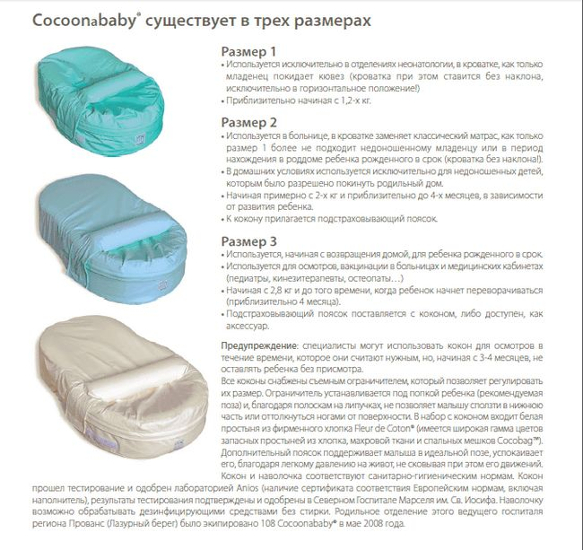матрац кокон red castle cocoonababy