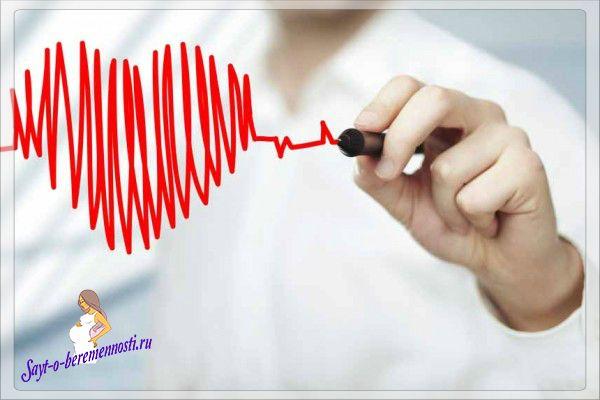 Серцебиття при вагітності може частішати